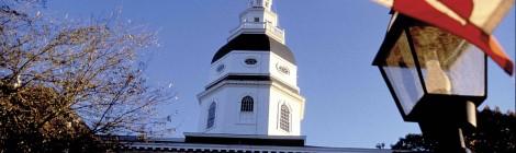 State House Annapolis Flag