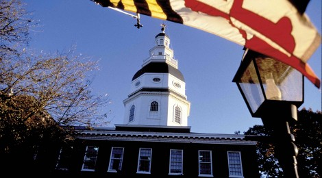 State House Annapolis Flag