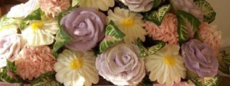 cupcakes in bloom